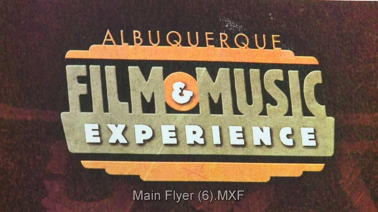 Albuquerque Film and Music Experience happening this week