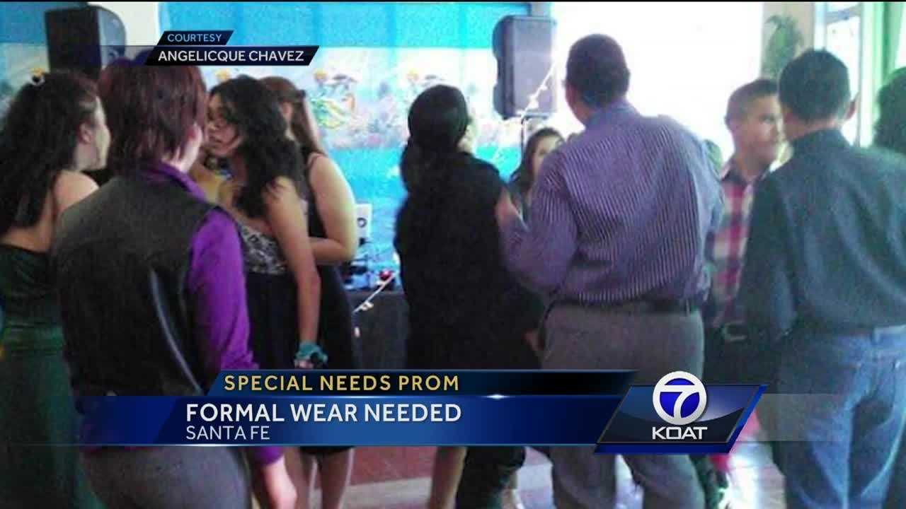 Formal Wear Needed For Special Needs Prom