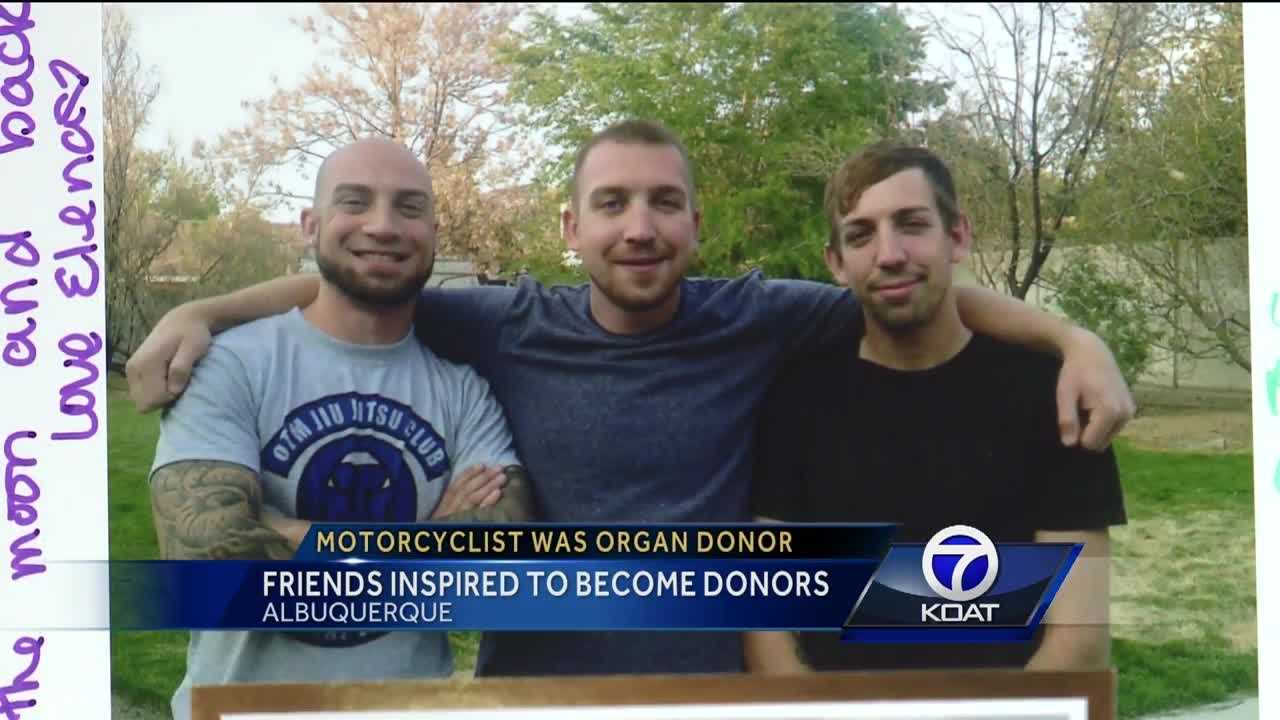 A young man killed in a motorcycle accident is leaving a big impact among his friends and strangers.