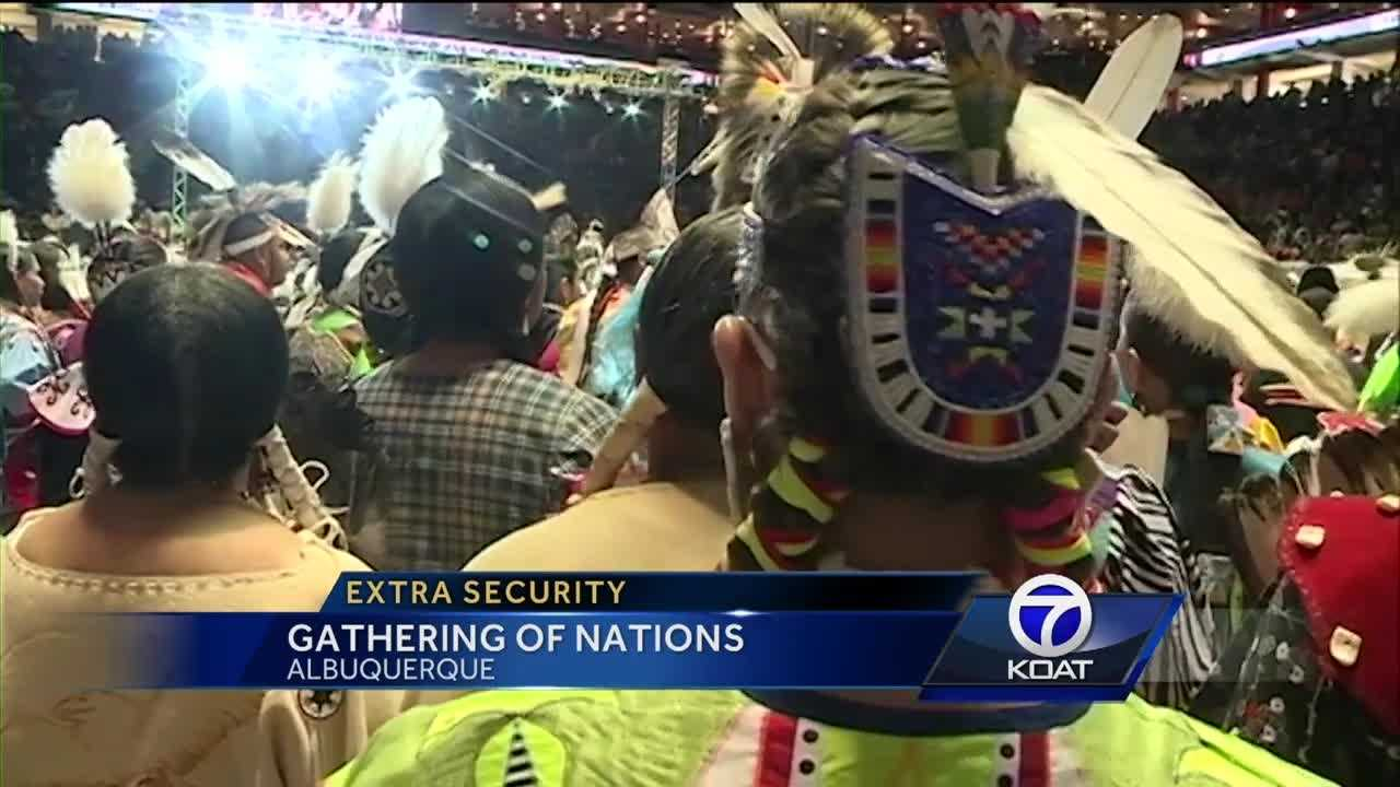 Extra security at Gathering of Nations