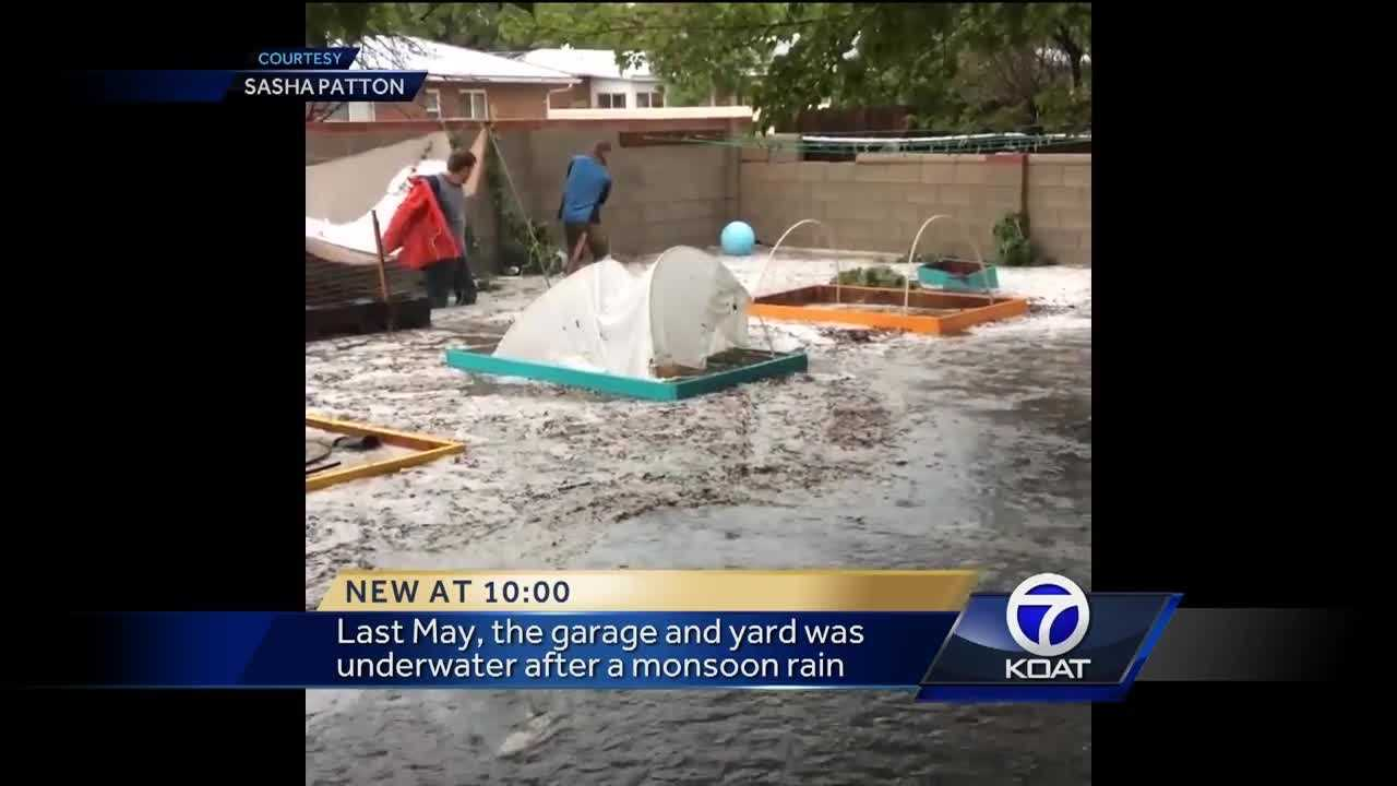 An Albuquerque family is prepared for this monsoon season after dealing with years of flooding