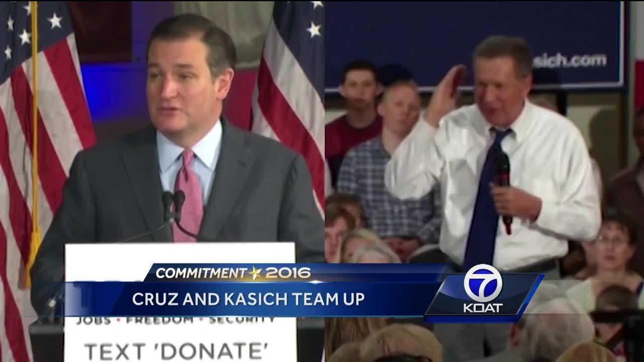 Cruz and Kasich Team Up