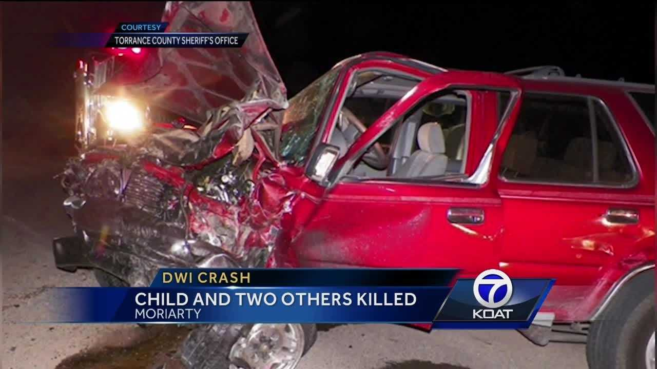 Child and Two Others Killed in DWI Crash