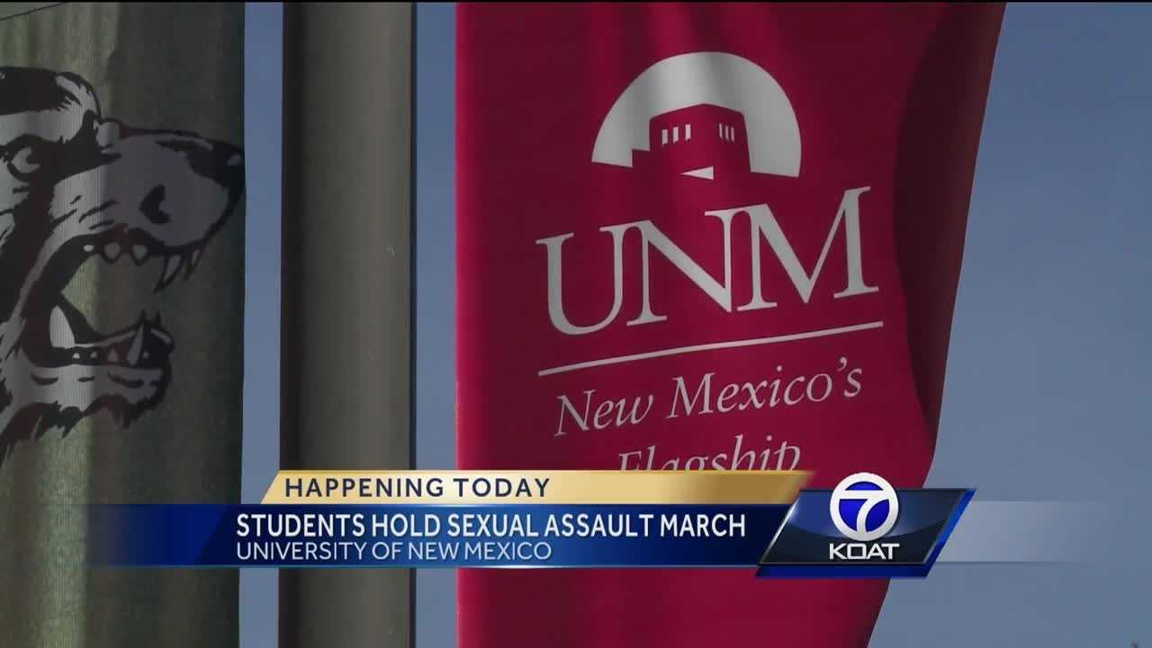 UNM Take Back The Night March