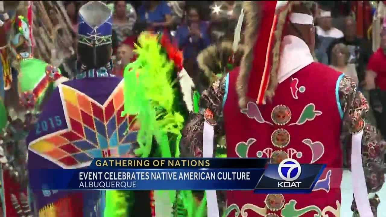 'Revenant' actors at the Gathering of Nations hope the event brings awareness to indigenous people.