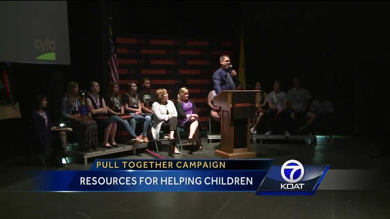 "The governor and the children youth and families department say they want to make New Mexico a better, safer place for our kids. They're launching a new campaign, hoping to get communities to ""pull together""."