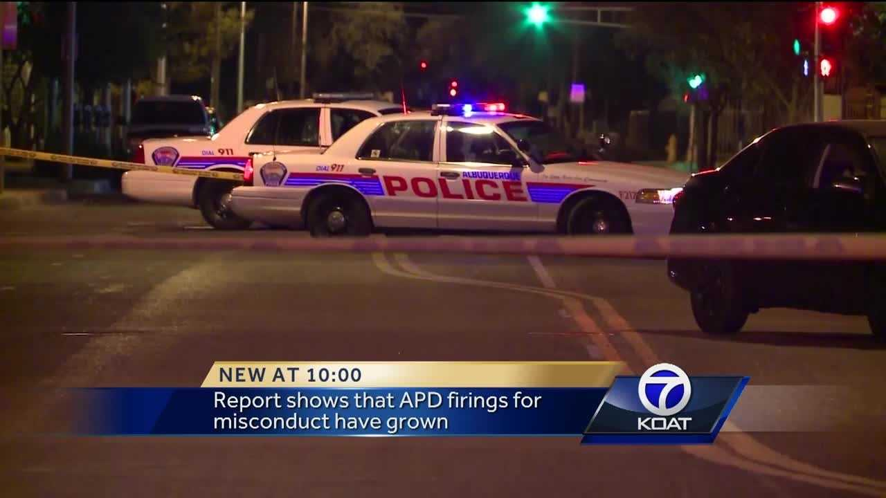 APD misconduct firings increase, report says