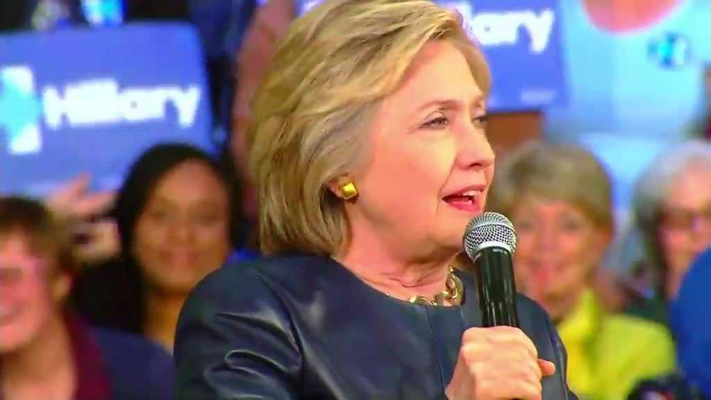Clinton presumptuous nominee