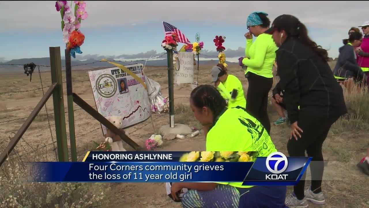 Four Corners community grieves the loss of 11-year old Ashlynne Mike.