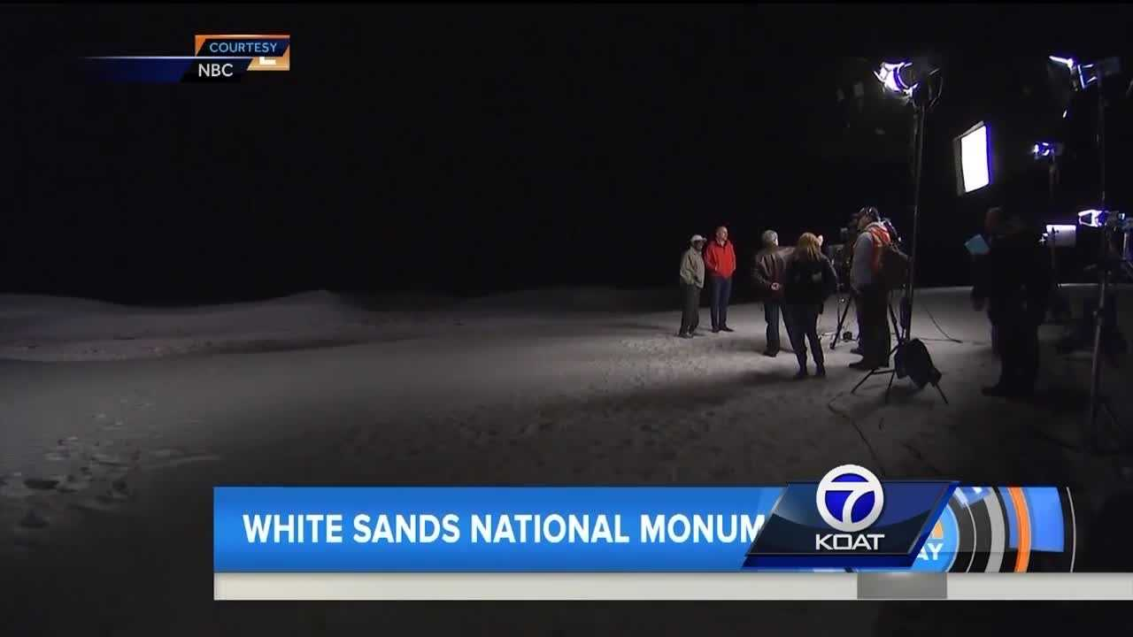 Anchor mistake places 'breathtaking' White Sands National Monument in Mexico