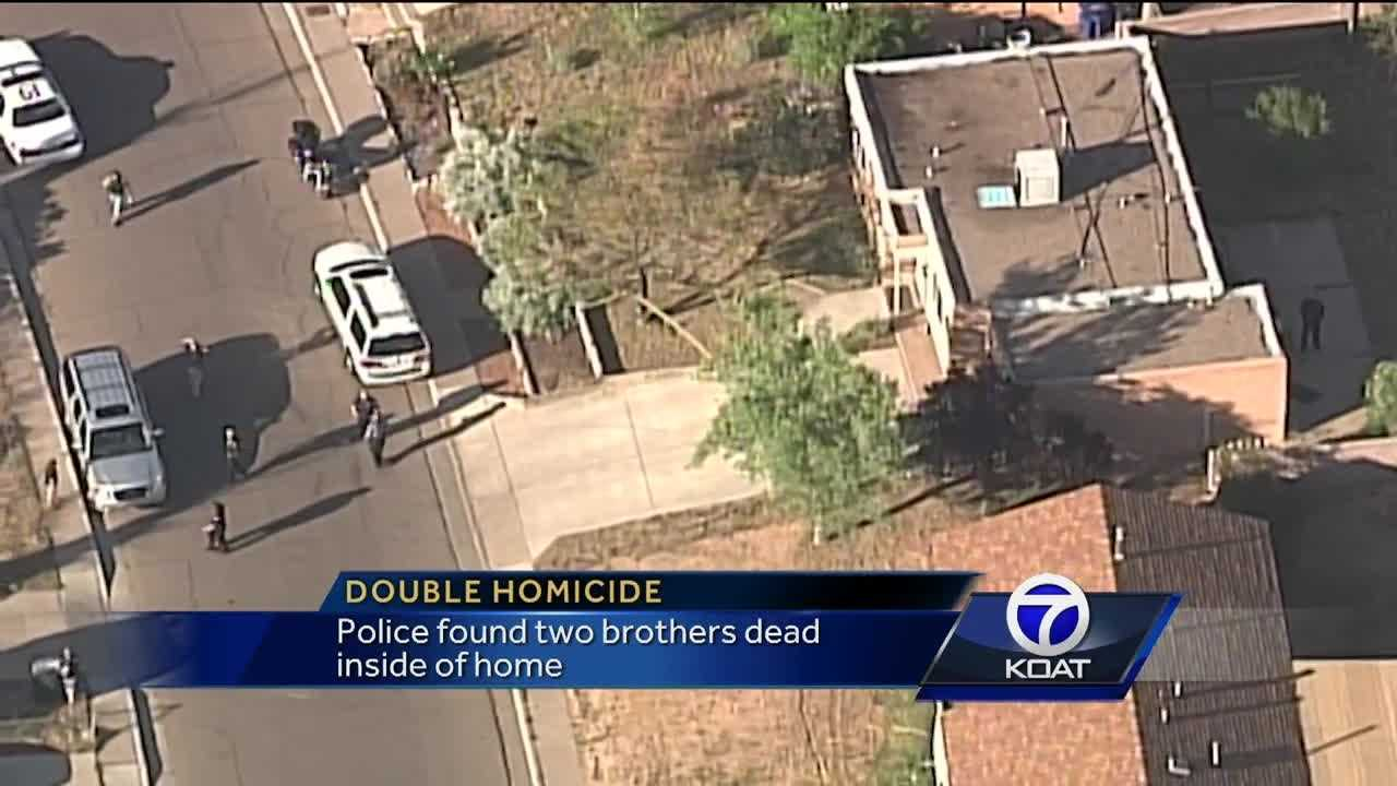 Police found two brothers dead inside of home.