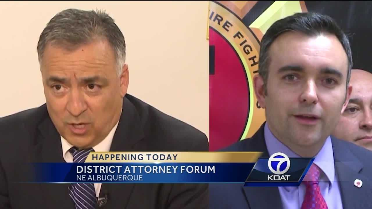 District Attorney Forum Today