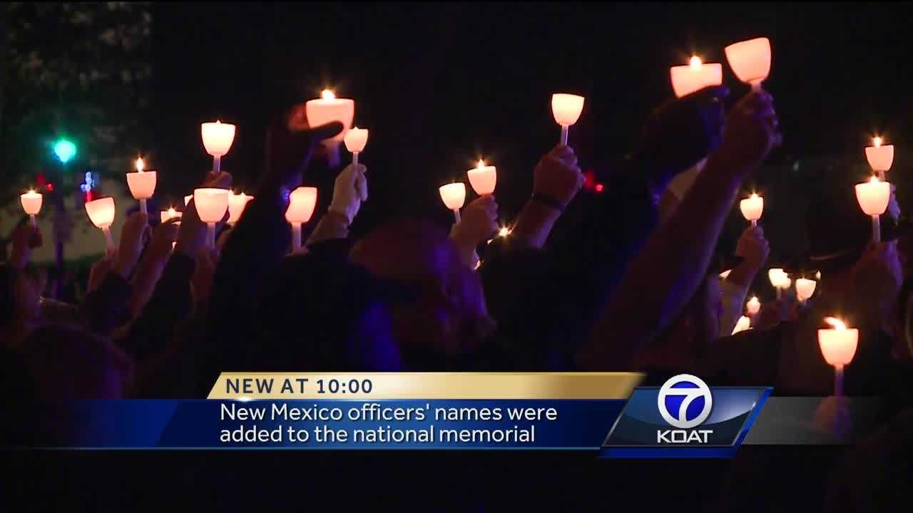 Local heroes were honored Friday night at candlelight vigil in Washington D.C.