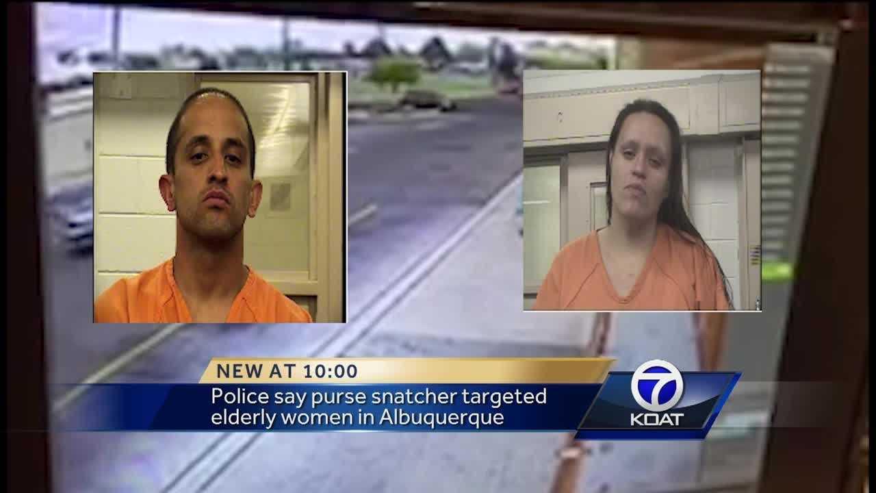 Purse snatcher has been targeting elderly women around the city