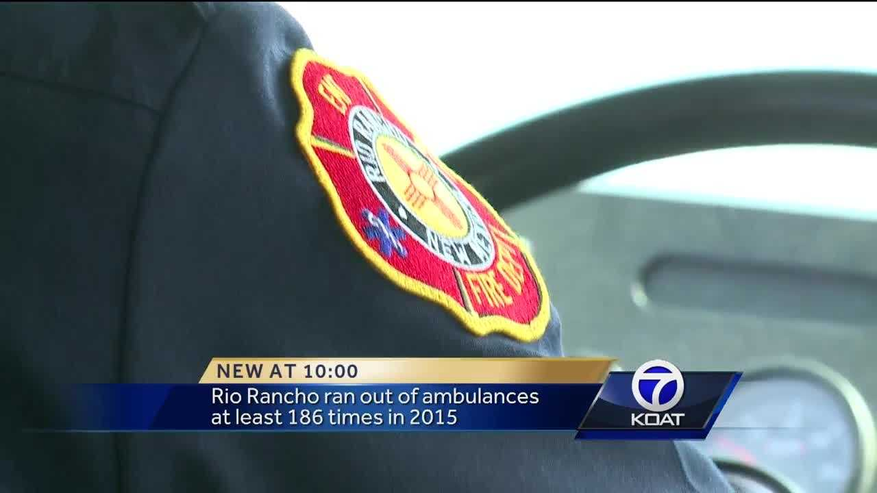 Rio Rancho ran out of ambulances at least 186 times in 2015