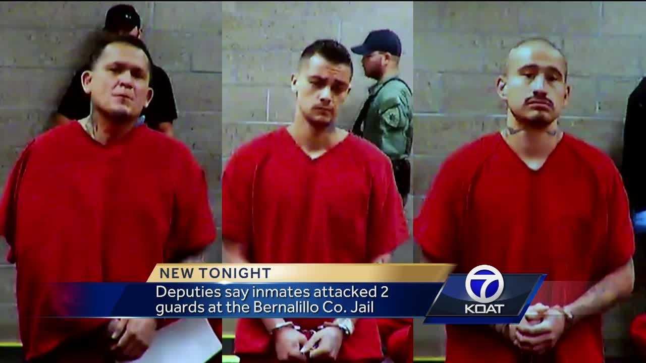 Inmates attack guards