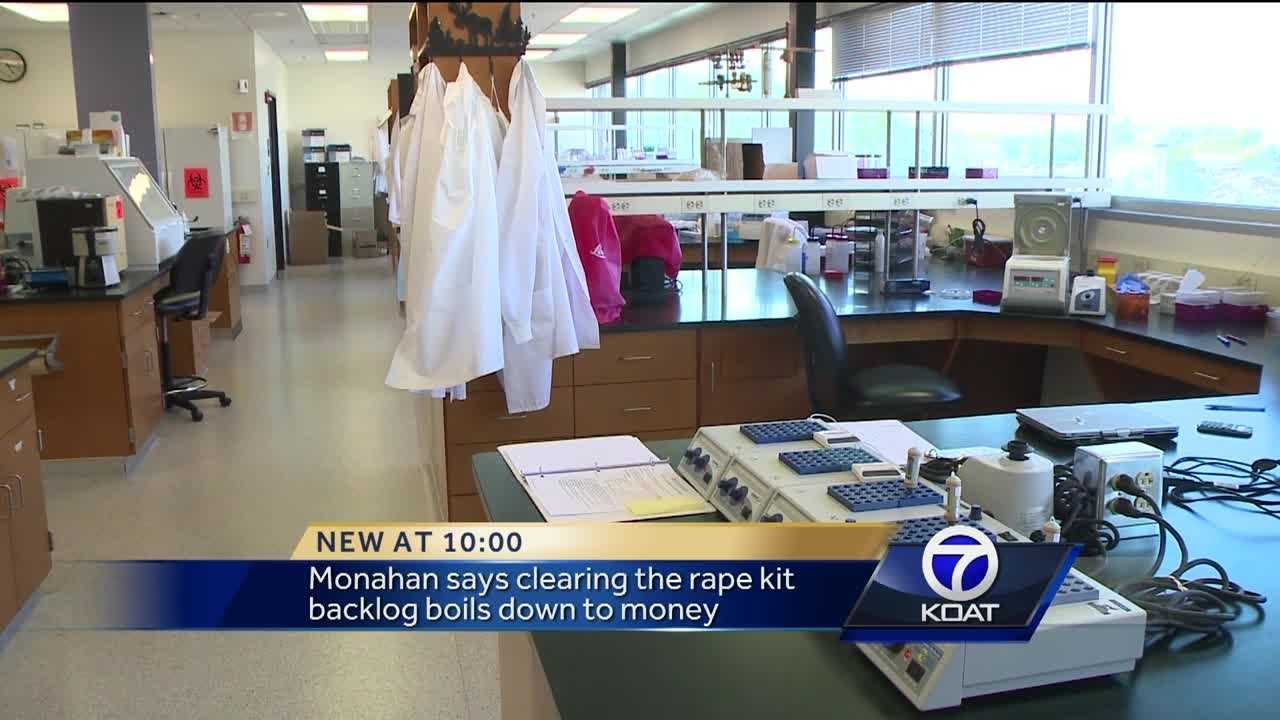 About 5,500 rape kits in New Mexico haven't been tested, officials say