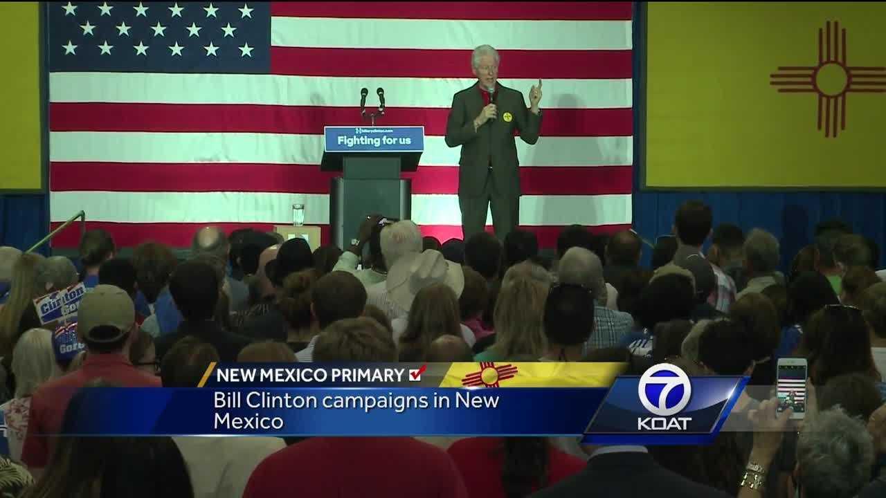 Bill Clinton in Albuquerque