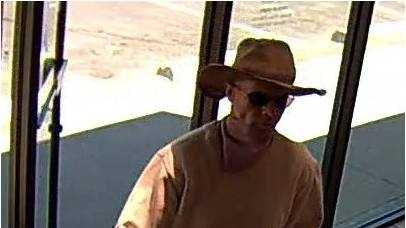 New pic of bank robber