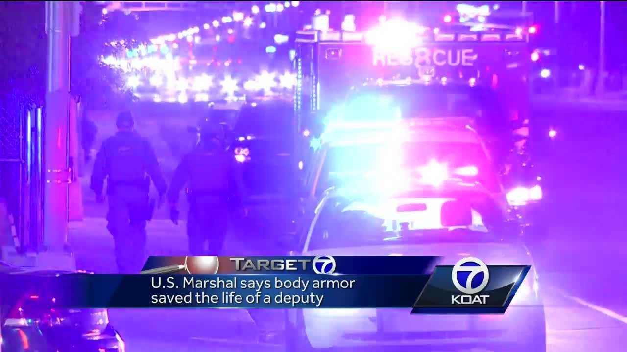 U.S. marshals dealing violent criminals