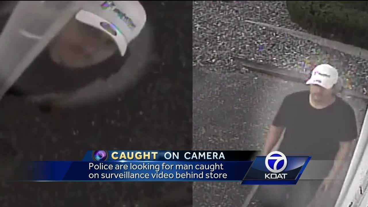 Police are looking for a man on surveillance video.