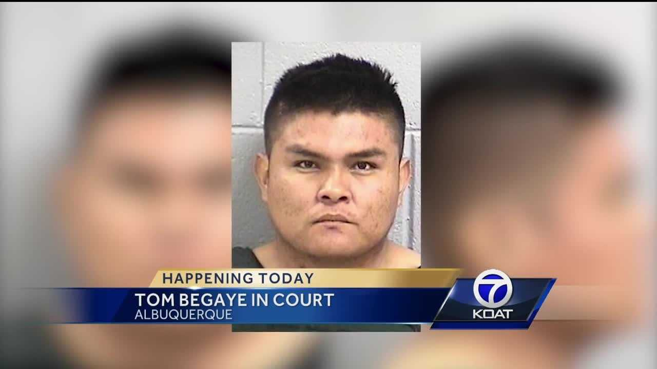 Tom Begaye In Court Today