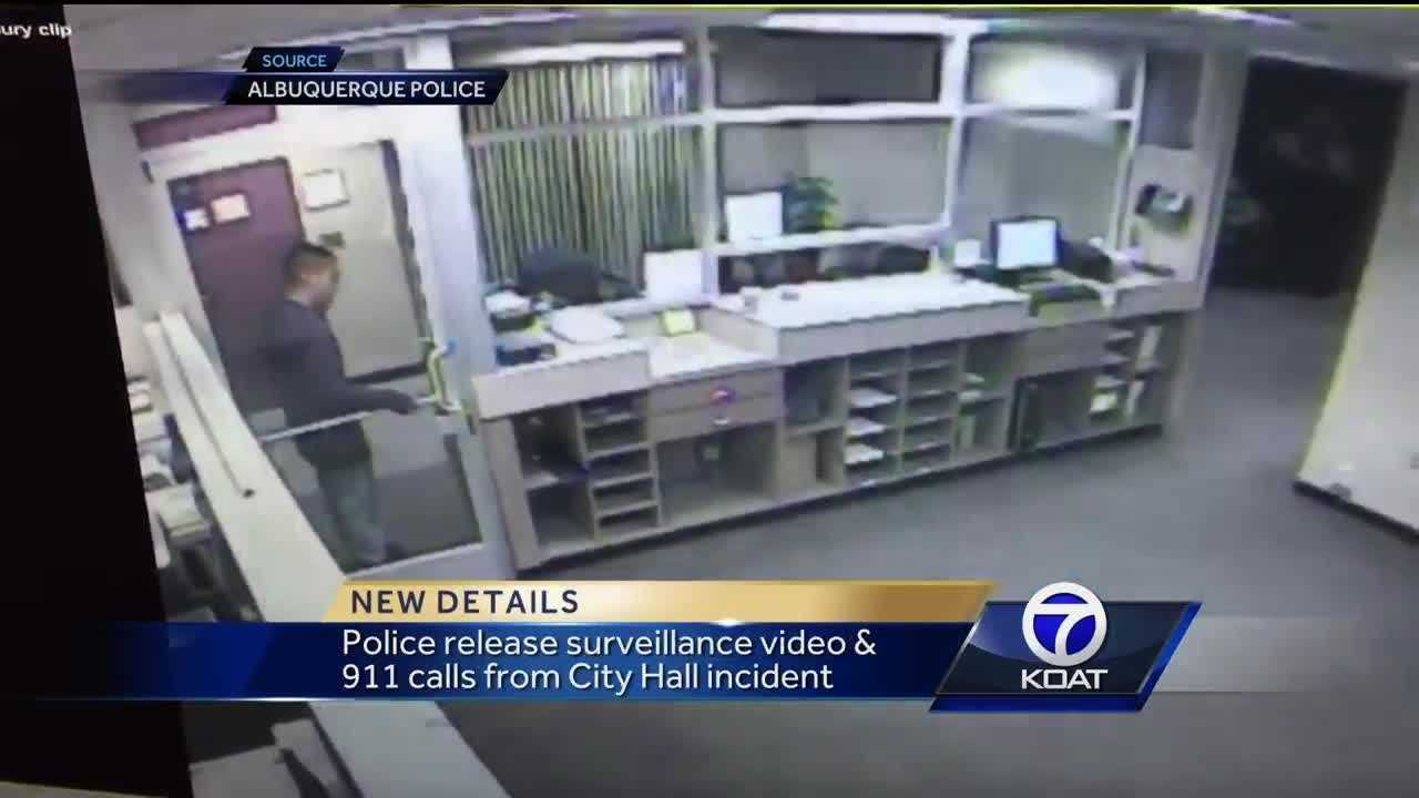 Video, 911 calls from City County Building incident released