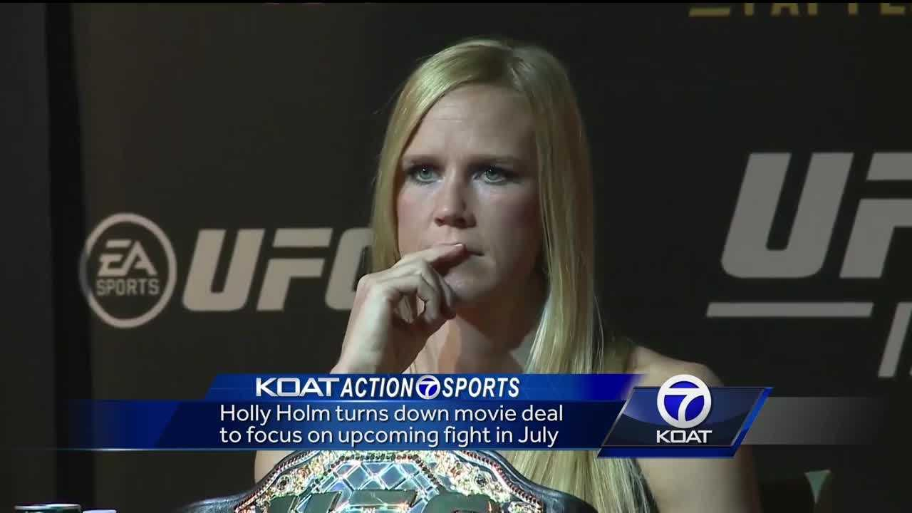 Holly Holm Movie Deal