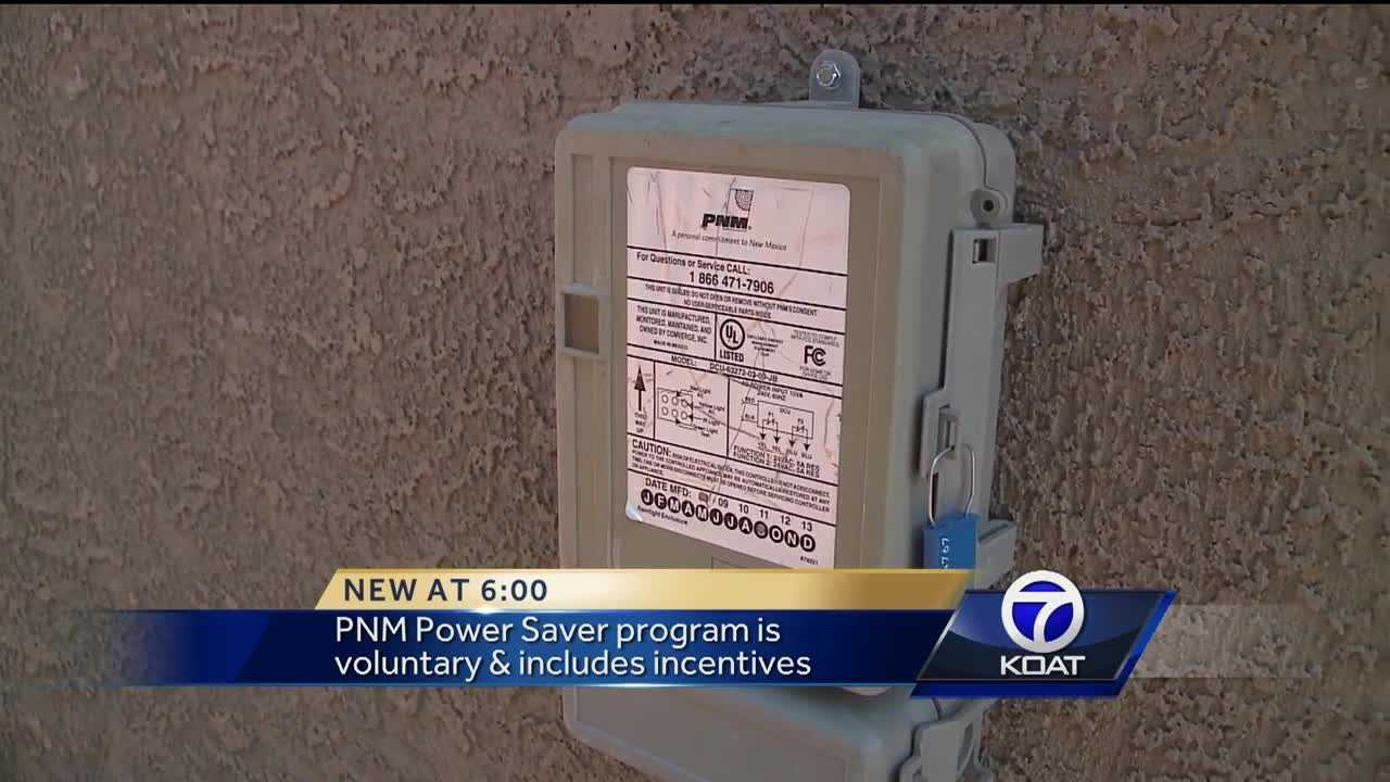 PNM power saver program is voluntary and includes incentives