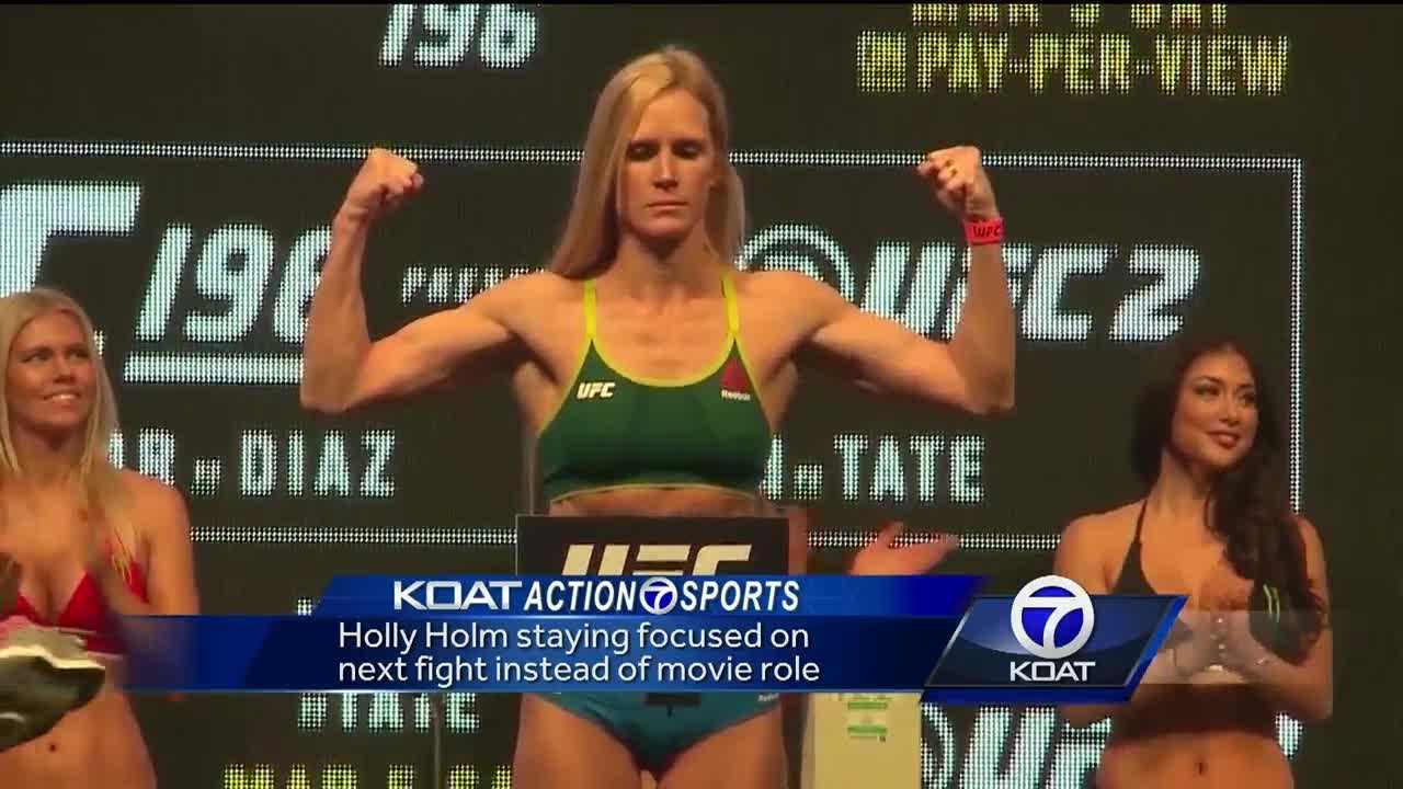 Holly Holm focuses on upcoming fight