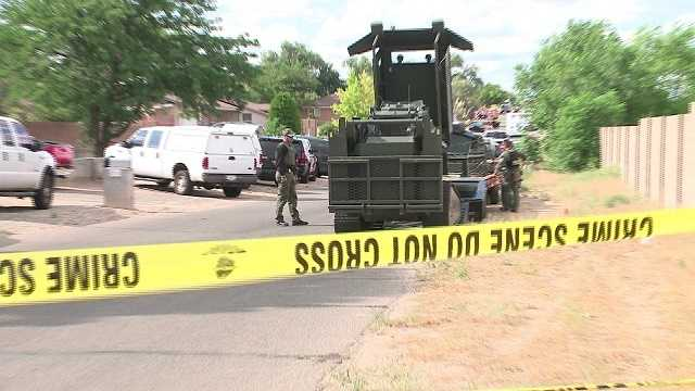 Shooting suspect in SWAT standoff in Rio Rancho