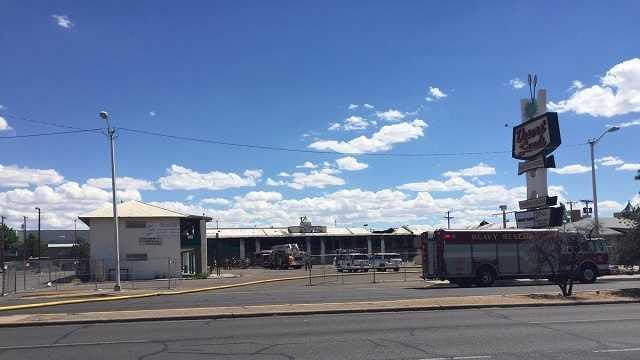 Second fire in 40 days sparks at Desert Sands Motel