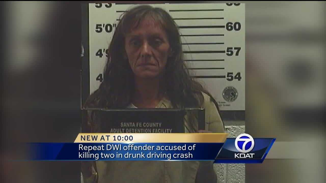 Court records show Yvonne Martinez had three previous DWI convictions.