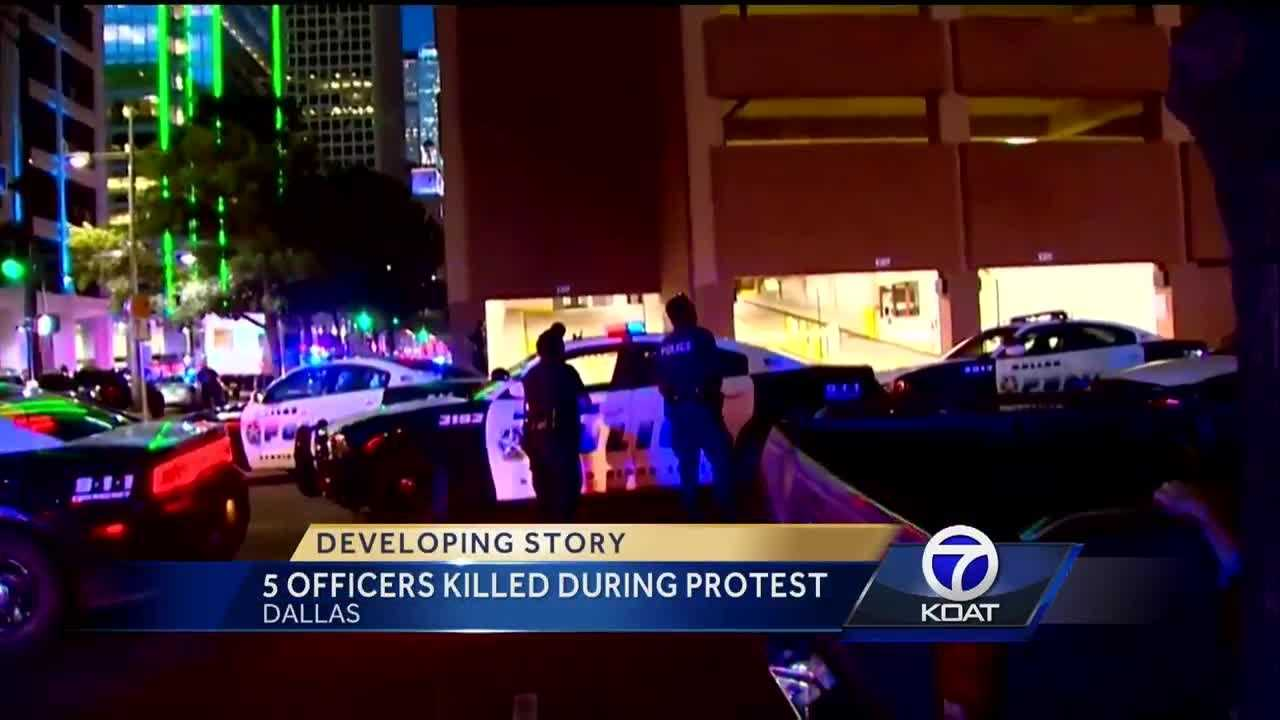 5 Officers Killed In Dallas Protest