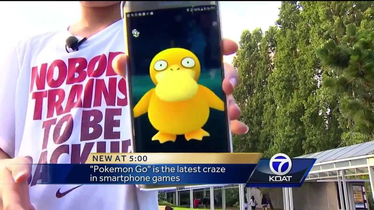 It's the latest craze to sweep the nation, a new game for your smartphone called 'Pokemon Go.'