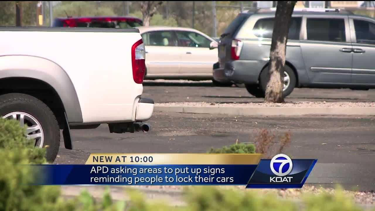 Auto Crime Trouble Spots