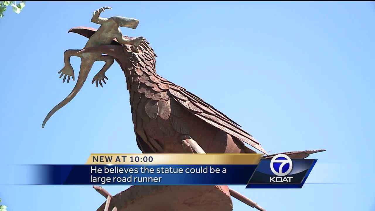 A Rio Rancho man wants the city to invest in a roadside attraction.