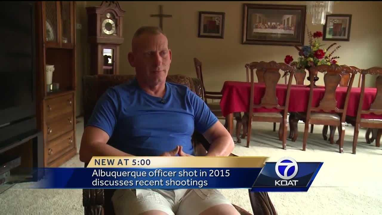 Local officer who was shot in 2015 discusses recent shootings