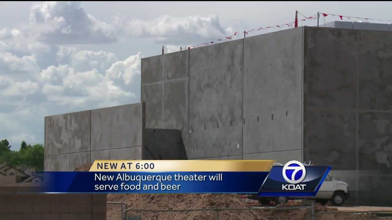 The Flix Brewhouse near Coors and La Orilla streets will allow people to eat and drink while watching movies.