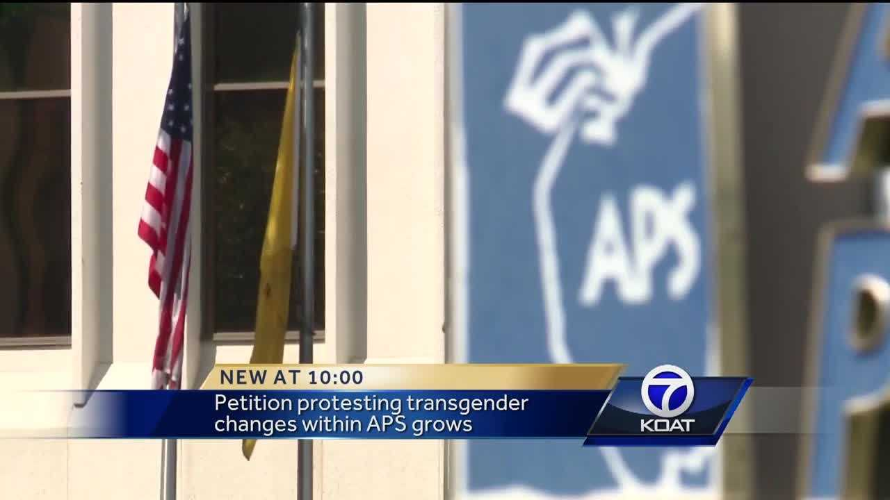 Petition protesting transgender changes within APS grows
