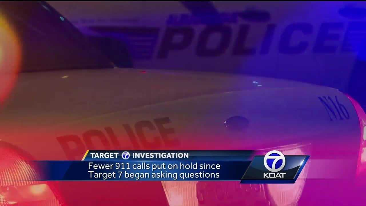 Fewer 911 calls are being put on hold since Target 7 began asking questions.