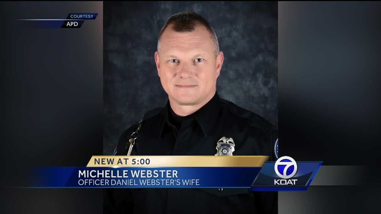 The Officer Daniel Webster Albuquerque Children's Park will be located near Wyoming Boulevard and Copper Avenue and it comes just a day before what would have been his 48th birthday.