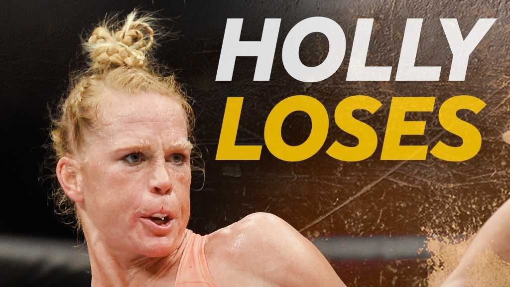 Holly loses
