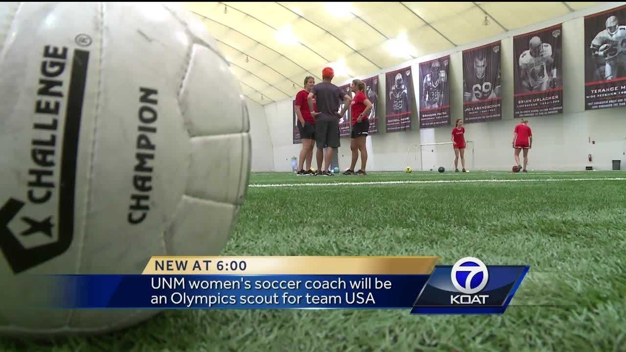 UNM women's soccer coach going to Rio