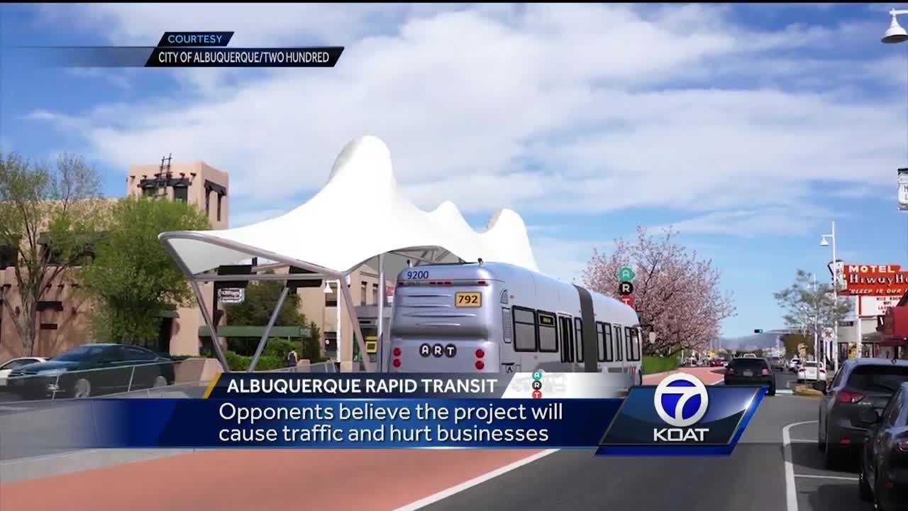 Federal hearing underway to decide if the ABQ Rapid Transit Project is a go. Opponents believe the project will cause traffic and hurt businesses.