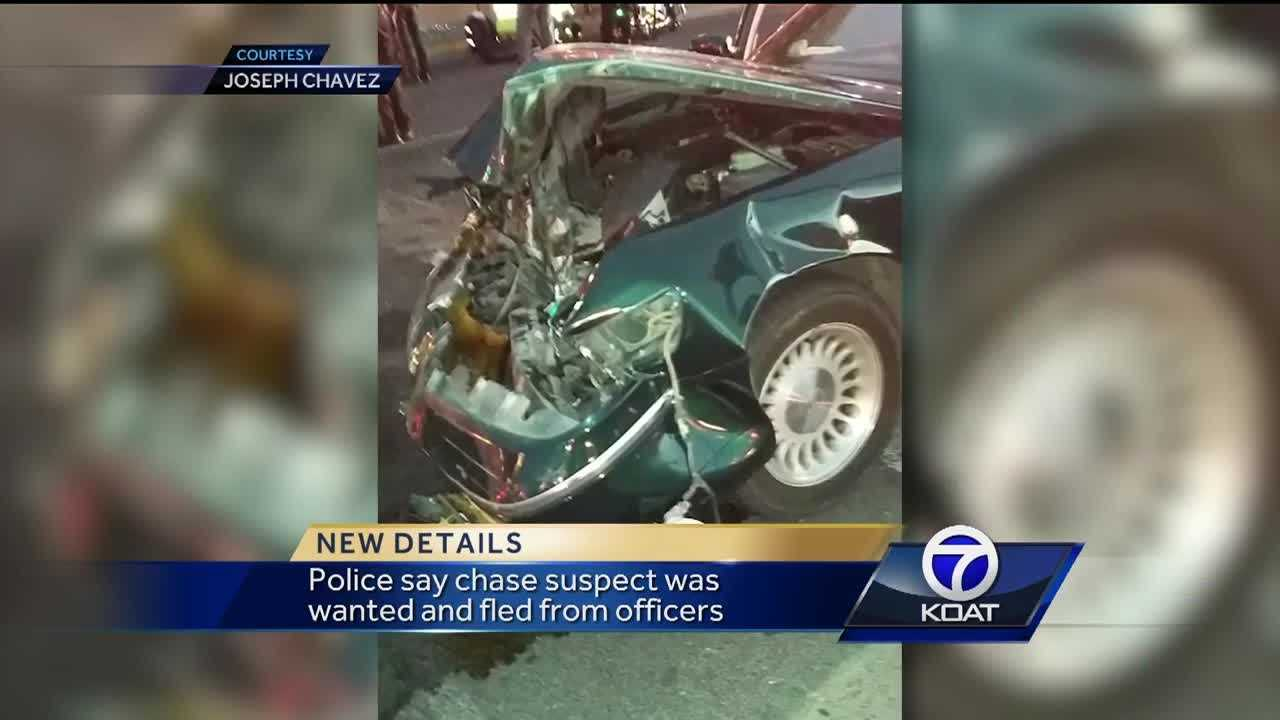 Chase suspect causes crash involving a 1-year-old baby
