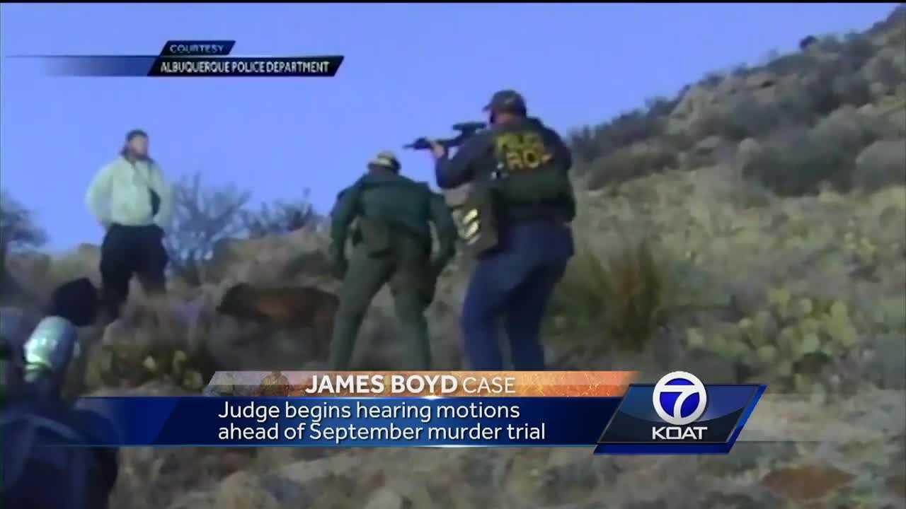 James Boyd murder trial