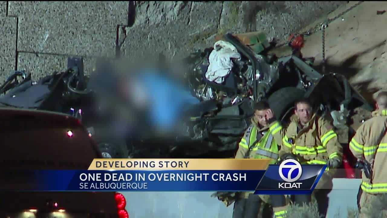 One Dead After Overnight Crash