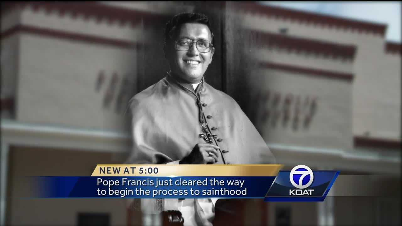 "Pope Francis just cleared the way to begin the process to sainthood for the ""Bishop of the Barrio."" Sainthood requires proof of two miracles."