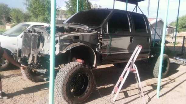 Family dealt major blow when thief crashes stolen truck